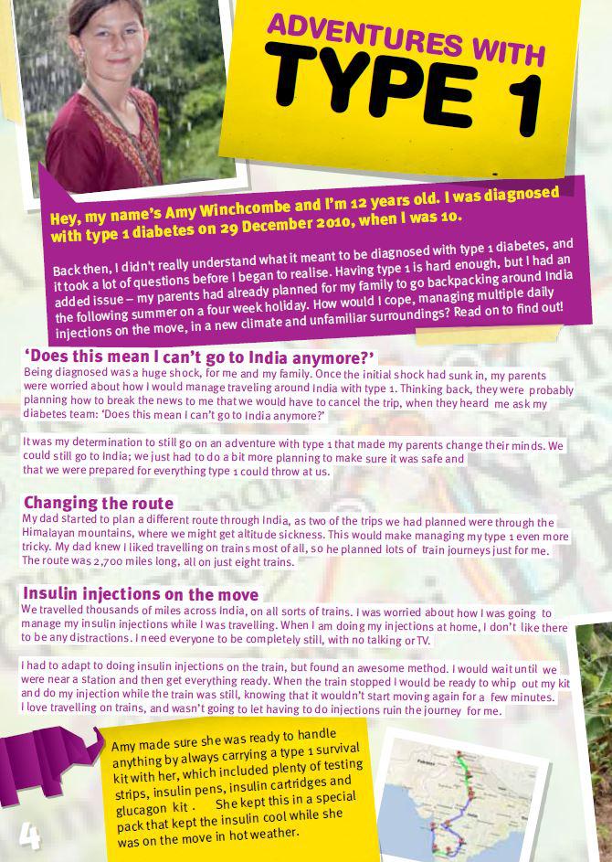 T1 Kids Magazine left page