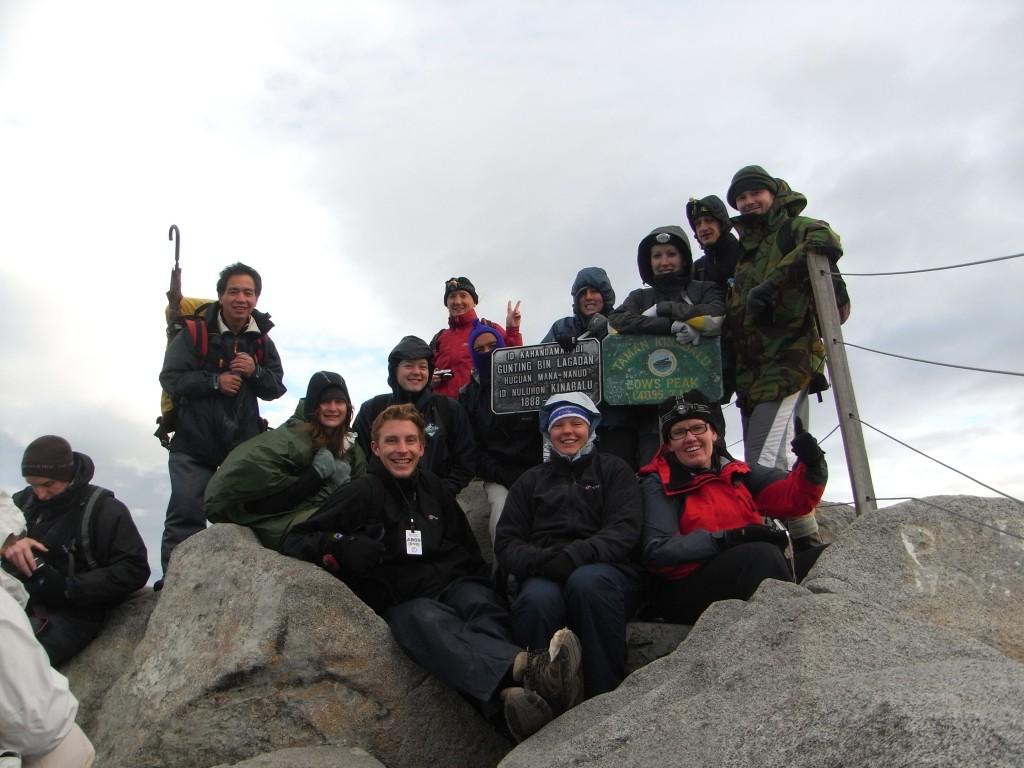 Victoria at the peak - group shot