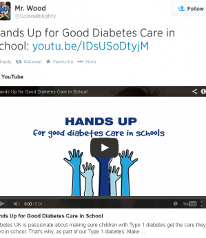 Diabetes UK are Making the Grade