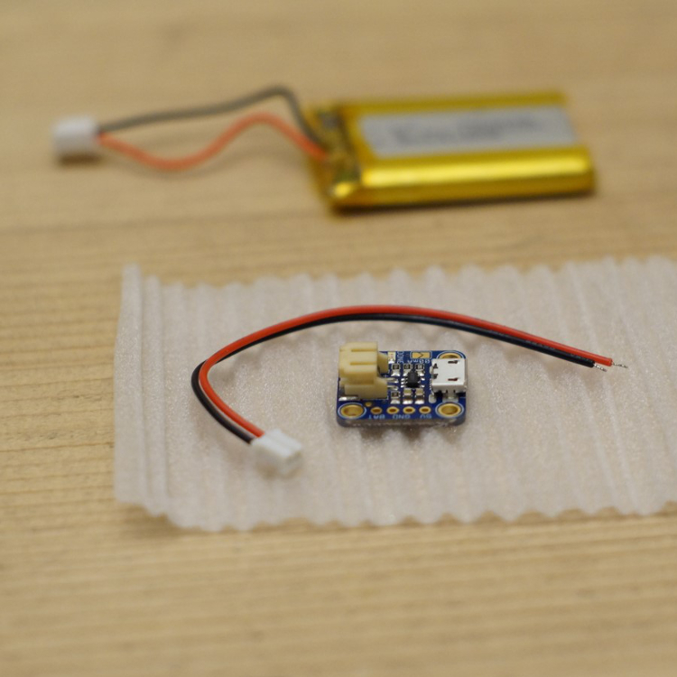 AdaFruit LiPo charger and battery