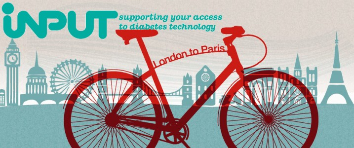 Cycling from London to Paris for INPUTDiabetes - How it went