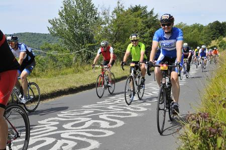 Riding the Prudential Ride London Surrey 100 for JDRF