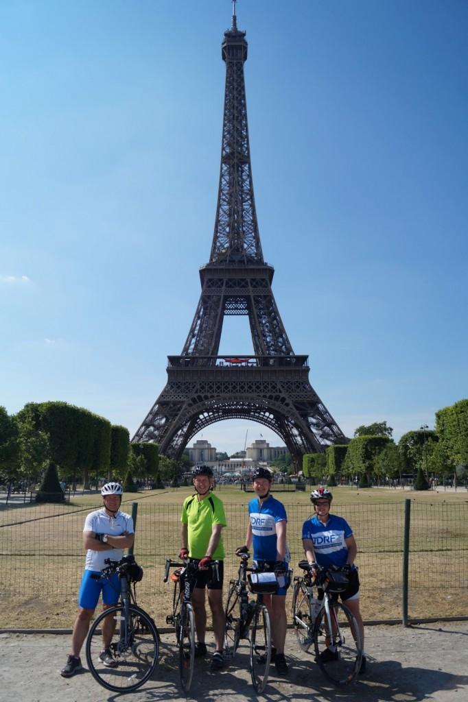 Eiffel arrival