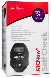 Doing an HbA1c Check at Home for the First Time Using an A1CNow Device