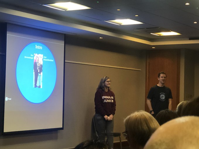 20191108, Amy and Kev, CYP conference